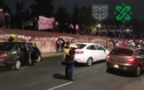 A una semana de enfrentamiento con policías, ciclistas bloquean avenidas en la CDMX
