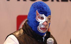 En caso de ganar, Blue Demon Jr. asegura que no se quitará la máscara. Foto: EFE