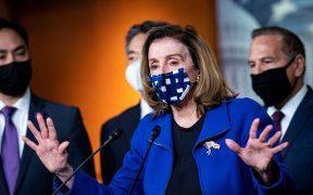 Hoy vimos en el Senado a un grupo de republicanos cobardes, dice Pelosi tras absolución de Trump