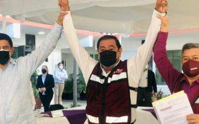 Félix Salgado se registra como candidato de Morena para la gubernatura de Guerrero