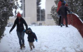 Suben a ocho los muertos por la tormenta invernal en el norte de México