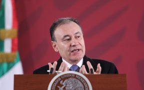 AMLO se reúne con los gobernadores electos de Campeche y Sonora en Palacio Nacional