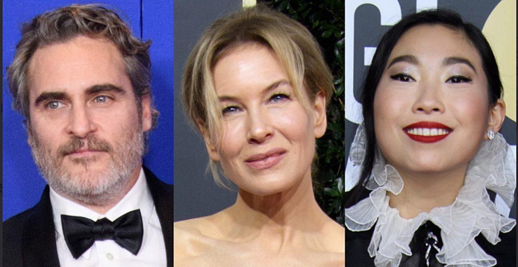 Joaquin Phoenix y Renée Zellweger presentarán los Globos de Oro
