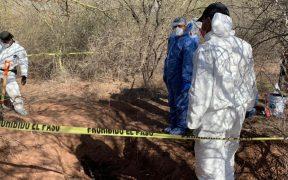 FGJE localiza al menos 6 cuerpos en fosa clandestina en Sonora.
