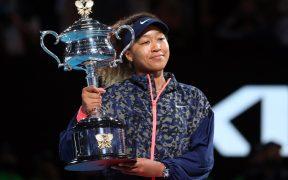 Naomi Osaka ganó su segundo título del Abierto de Australia. Foto: Reuters