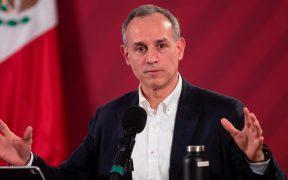 Hugo López-Gatell, subsecretario de Salud, da positivo a Covid-19