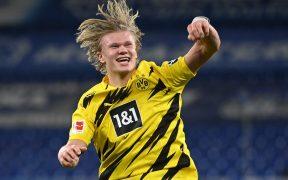 Haaland lleva 43 goles en 43 partidos con el Dortmund. Foto: Reuters