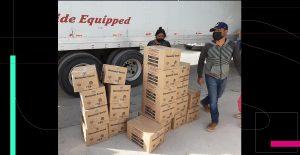 Investigan supuesta entrega de paquetes alimenticios del gobierno de El Salvador en México