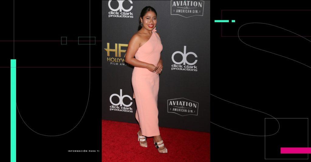 Yalitza Aparicio regresa a la pantalla...como presentadora del preshow de los Globos de Oro