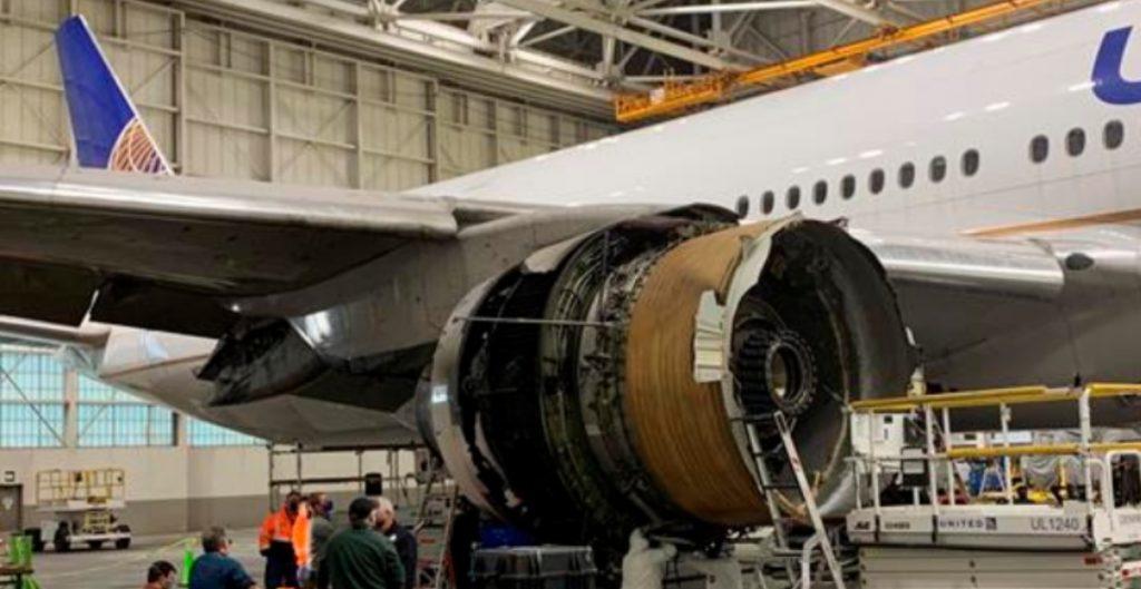 """El motor incendiado del vuelo de Denver mostró signos de """"fatiga"""", lo que provocó la avería"""