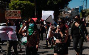 Activistas protestan en Iguala contra candidatura de Salgado; acusan agresión contra manifestante