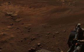 Con 142 imágenes, Perseverance creó una fotografía panorámica de 360 grados de Marte