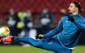 Zlatan Ibrahimovic, estrella del Milan. Foto: EFE