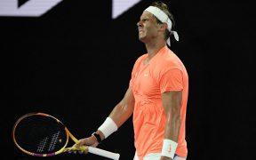 Nadal no ha superado la lesión en la espalda. Foto: Reuters
