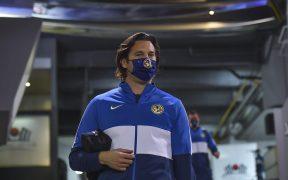 Santiago Solari en la práctica del América. Foto: Mexsport