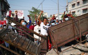 ONU reporta 18 muertos tras represión a protestas en Birmania