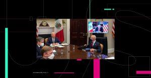 """""""Hicimos un compromiso: ver a México como igual"""", dice Biden en conversación virtual con AMLO"""