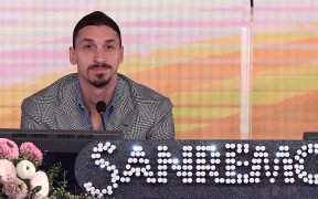 Zlatan Ibrahimovic participará como jurado en el festival de San Remo. Foto: EFE