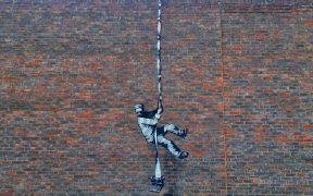 Aparece una supuesta obra de Banksy en cárcel de Reino Unido