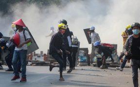 Fuerzas de seguridad en Birmania disparan contra manifestantes; hay al menos 6 muertos