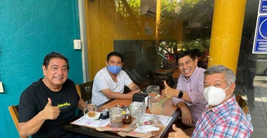 Félix Salgado se reúne con dirigencia de Morena en Guerrero, a pesar de suspensión a su candidatura