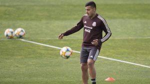 Alexis Vega vuelve a la Selección Preolimpica. Foto: Mexsport