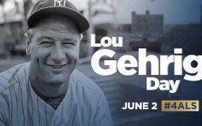 Las Grandes Ligas anunciaron que cada 2 de junio se celebrará el Día de Lou Gehrig. Foto: MLB