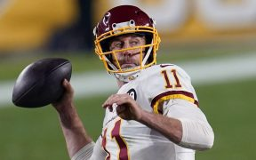 Alex Smith acordó su separación con el equipo de Washington. Foto: AP
