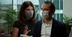 María Scherer entrevista a Xavier Nava