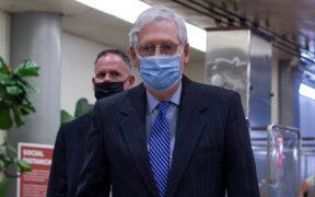 """La prioridad de los demócratas no era el alivio de la pandemia, sino su """"lista de deseos"""": McConnell"""