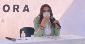 Con cubrebocas, salen candidatos en Nuevo León a pedir el voto