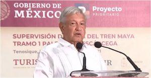 """""""No inaugurar el Tren Maya en 2023 sería un rotundo fracaso"""", asegura AMLO"""