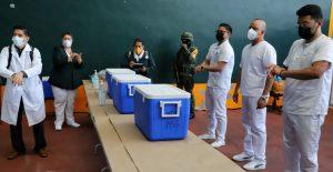 Comienza la vacunación contra Covid-19 en la alcaldía Miguel Hidalgo
