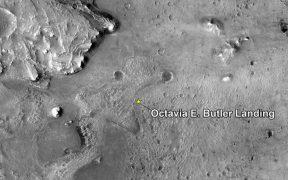 NASA bautiza como Octavia E. Butler el lugar en que aterrizó el Perseverance en Marte