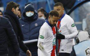 Neymar vuelve a perderse otro partido importante con el PSG. Foto: Reuters
