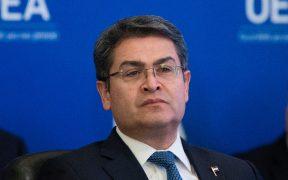 EU asegura que el presidente de Honduras, Juan Orlando Hernández, colaboró con el narco