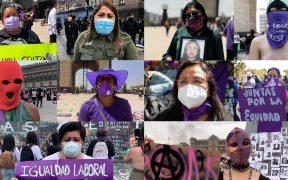 """""""Ya chole con la violencia de género, los feminicidios y la injusticia"""", responden mujeres a AMLO"""