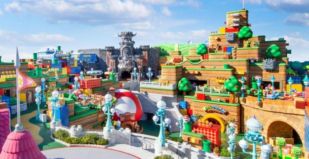 El parque temático de Super Mario en Japón abrirá el 18 de abril