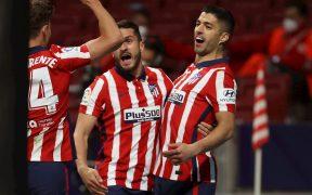 Luis Suárez marcó el gol de la voltereta con un penalti. Foto: EFE