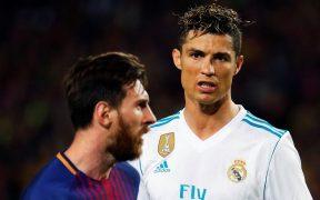 El fin de una era podría llegar con la eliminación de Messi y Cristiano Ronaldo en octavos de la Champions. Foto: EFE