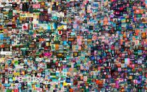 Obra de arte digital es subastada por Christie's alcanza el récord de 69 millones