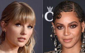 Taylor Swift y Beyoncé buscan hacer historia en Los Grammy