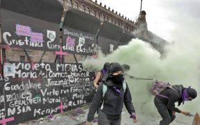 Gasta el gobierno federal más de 250 mdp en gases lacrimógenos y equipo antidisturbios