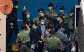 Salen bajo fianza 11 de los 47 activistas de Hong Kong acusados de subversión