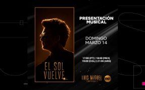 Diego Boneta canta 'Que nivel de mujer' en medio de los Grammy