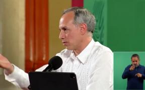 López-Gatell vuelve a las conferencias presenciales a más de 20 días de dar positivo a Covid