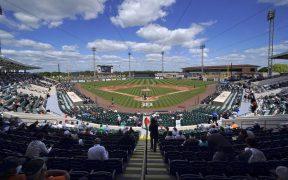 El estadio Joker Marchant en Lakeland, Florida, podría ser sede del Preolímpico de las Américas. Foto: AP