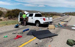 Ocho inmigrantes mexicanos fallecen en un accidente automovilístico en Texas