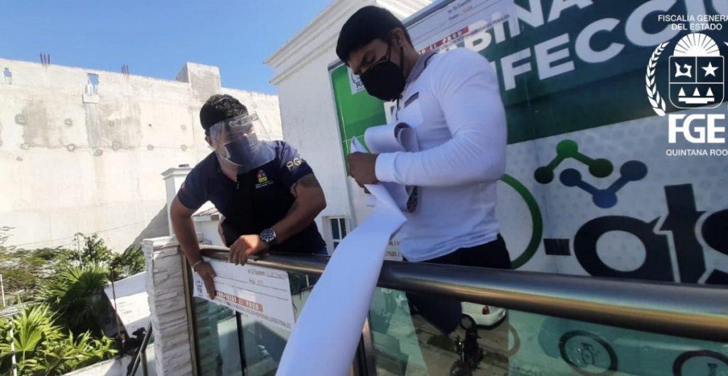 Clausuran laboratorio de Quintana Roo donde argentinos se hicieron presuntas pruebas falsas a Covid-19