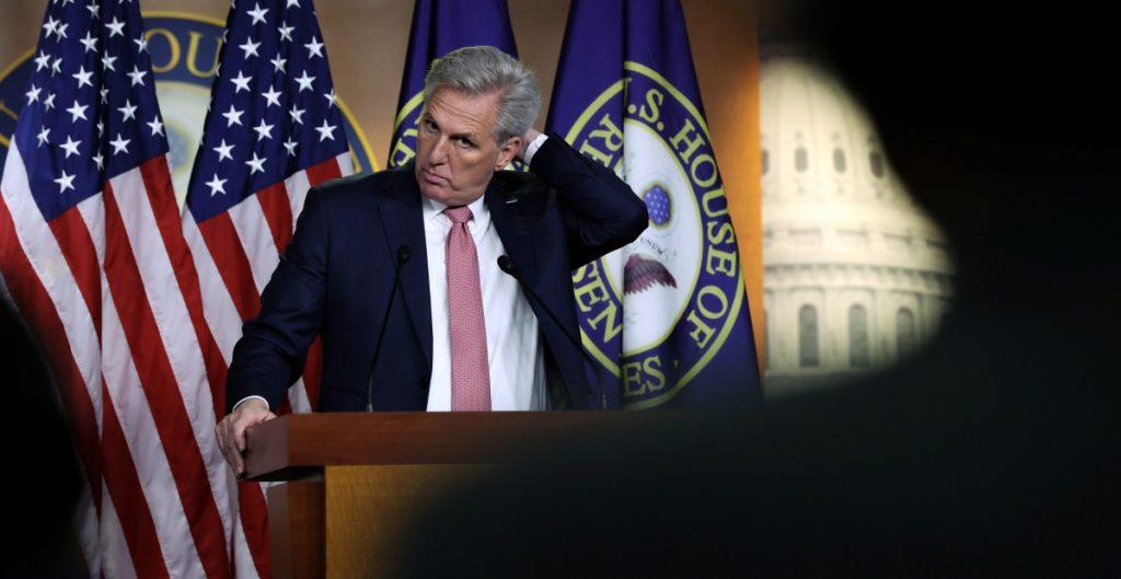 Líder republicano exhorta a Biden a reiniciar construcción del muro fronterizo